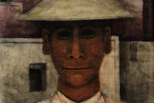 Man with Tall Hat (c. 1930), Rufino Tamayo.