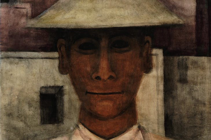 Man with Tall Hat (c. 1930), Rufino Tamayo.