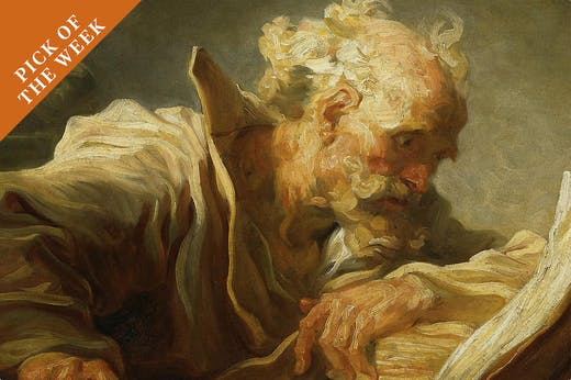 The Philosopher (c. 1764), Jean-Honoré Fragonard.