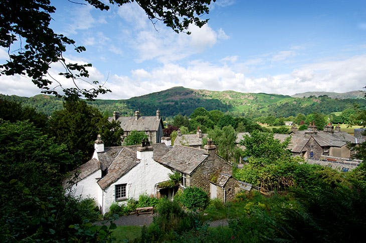 Dove Cottage in Grasmere.