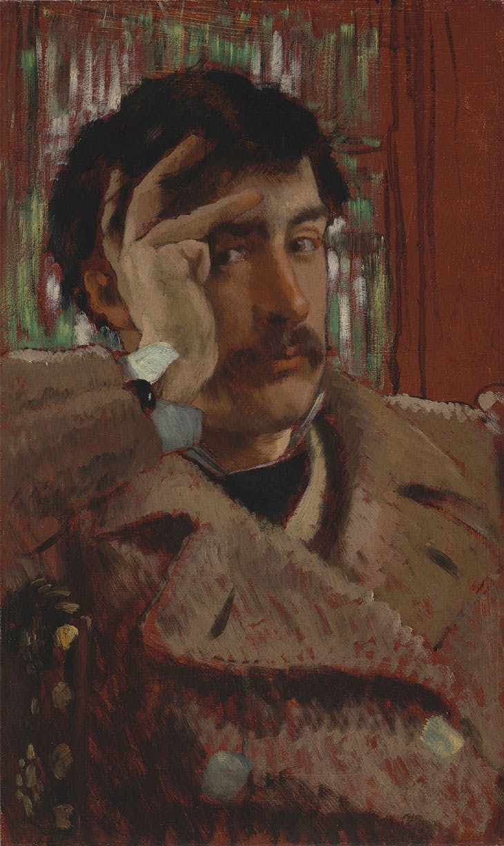 Self-portrait (c. 1865), James Tissot. Fine Arts Museums of San Francisco