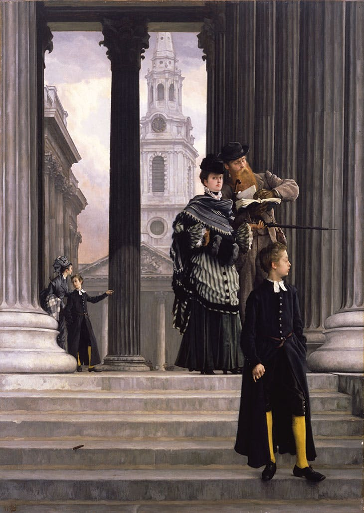 London Visitors (c. 1874), James Tissot. Toledo Museum of Art.