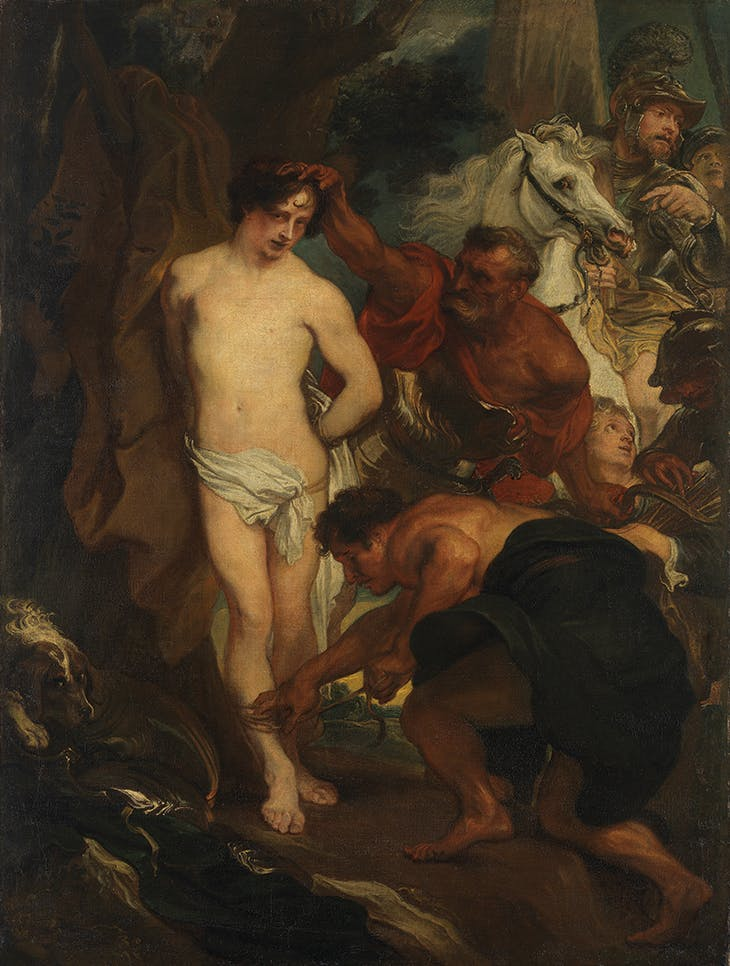 The Martyrdom of St Sebastian (c. 1622/23), Anthony van Dyck. Alte Pinakothek, Munich