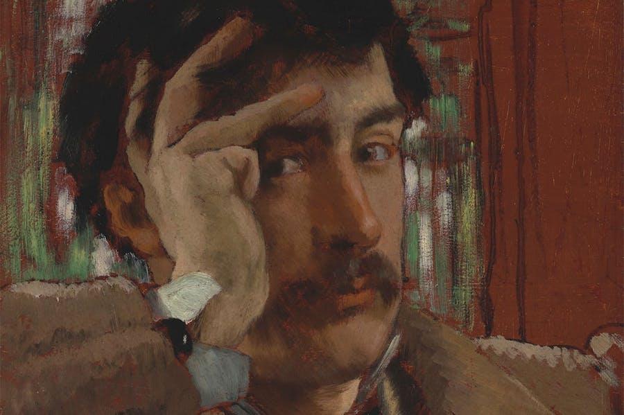 Self-portrait (c. 1865), James Tissot. Fine Arts Museums of San Francisco