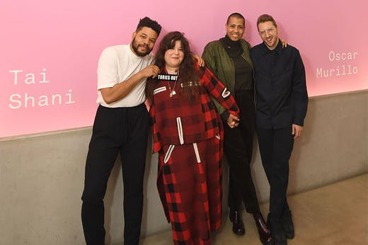 The collective winners of the Turner Prize 2019.