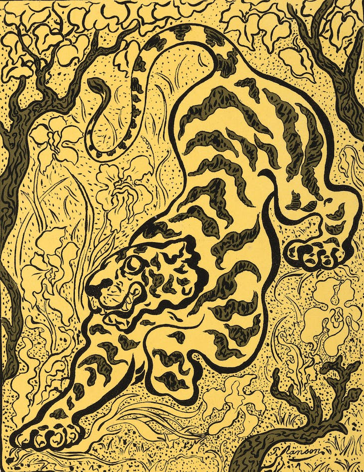 Tiger in the Jungle (1893), Paul Elie Ranson
