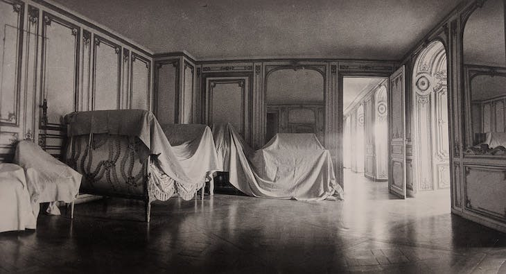 The Private Apartment of Madame du Barry at Versailles from Unseen Versailles (1980), Deborah Turbeville