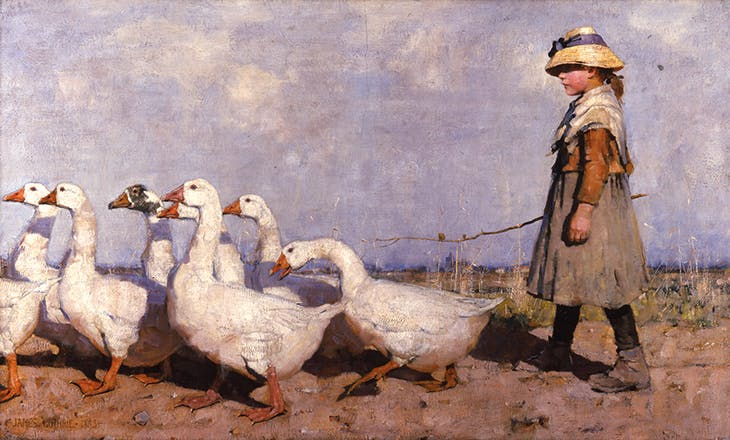 To Pastures New (1883), James Guthrie.