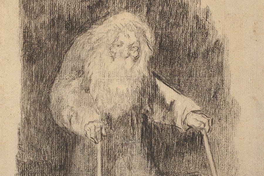 I Am Still Learning (detail; 1824–28), Francisco de Goya. Museo Nacional del Prado, Madrid