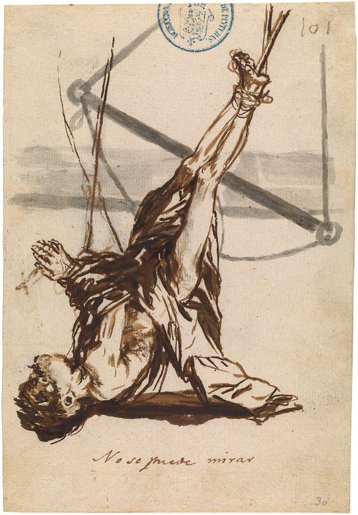 One Cannot Watch (1808–14), Francisco de Goya. Museo Nacional del Prado, Madrid