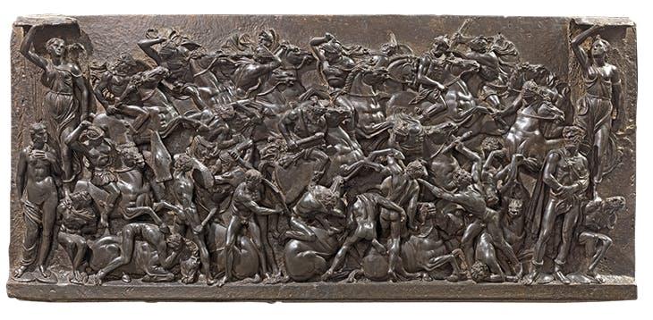 Battle (c. 1480–85), Bertoldo di Giovanni. Museo Nazionale del Bargello, Florence.