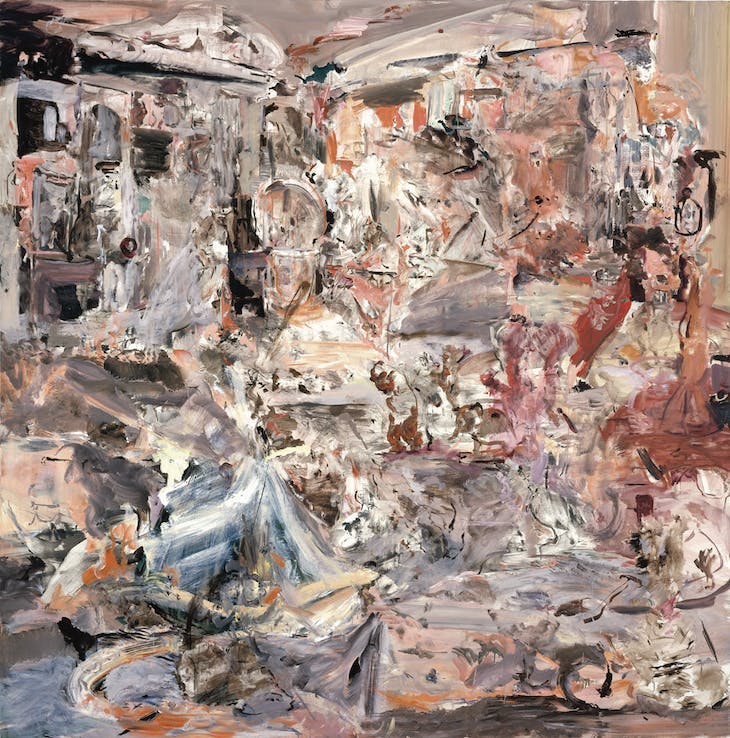 Maid's Day Off (2005), Cecily Brown.