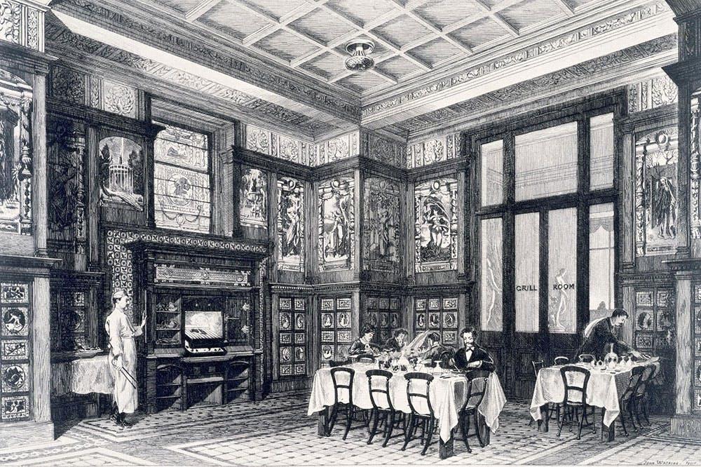 The Grill Room (1876–81), John R.E. Watkins.