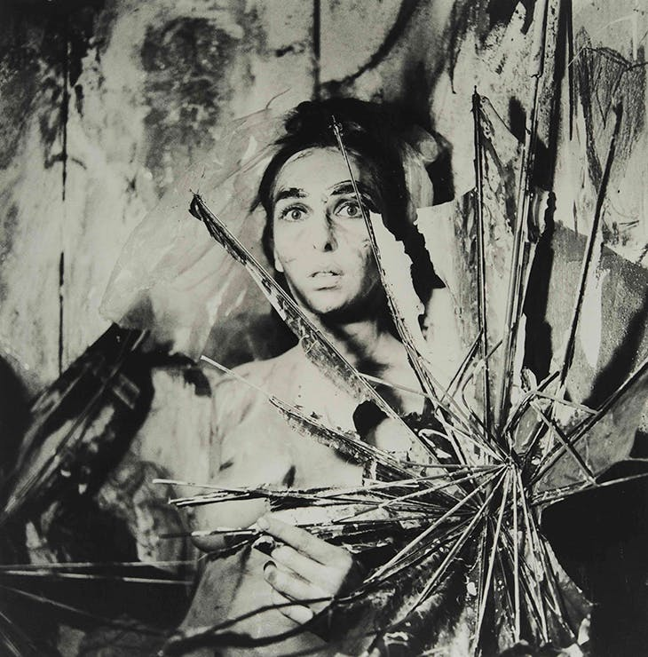 From the series Eye Body: 36 Transformative Actions for Camera (1963/2005), Carolee Schneemann.
