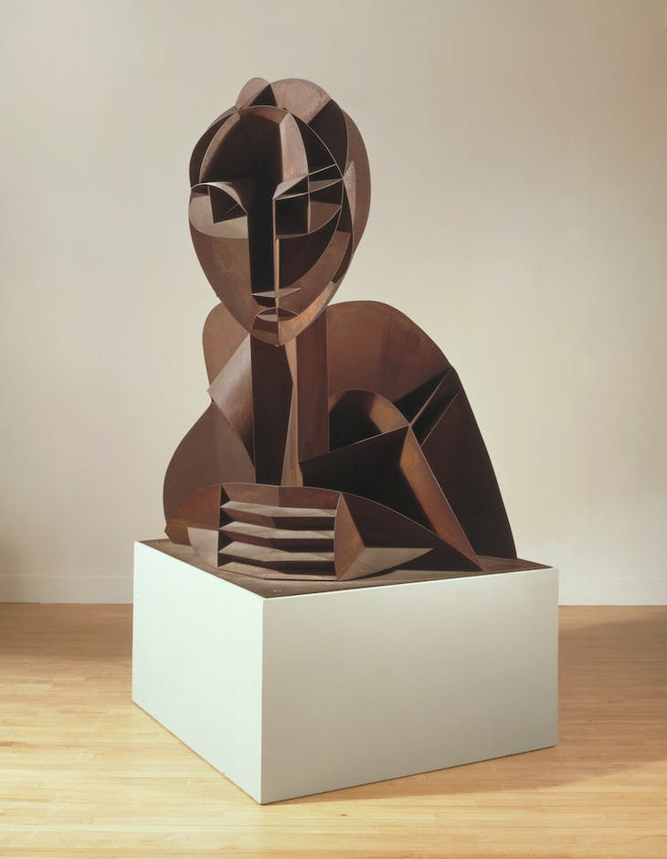 Head No. 2 (1916/64), Naum Gabo.