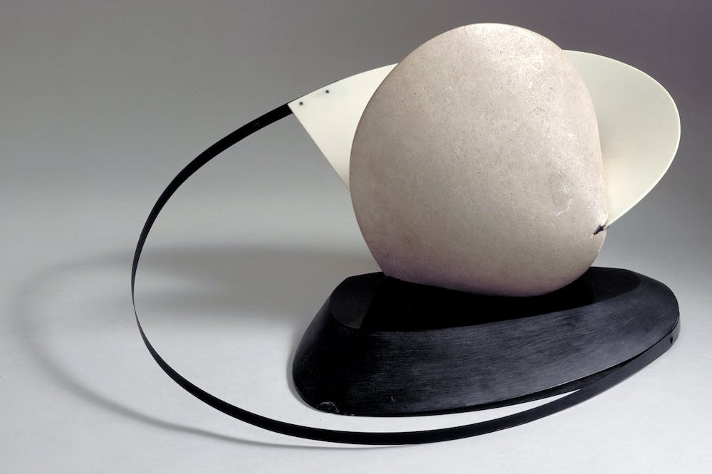 Construction: Stone With A Collar (1933), Naum Gabo.