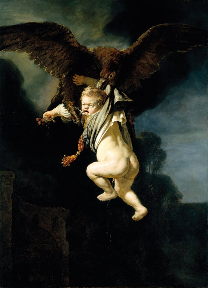 The Abduction of Ganymede (1635), Rembrandt van Rijn