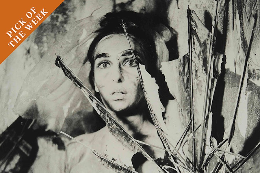From the series Eye Body: 36 Transformative Actions for Camera (detail; 1963/2005), Carolee Schneemann.