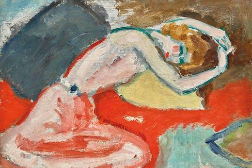 La Chemise (detail; 1905), Kees van Dongen. Galerie Jean-François Cazeau (€1.8m)