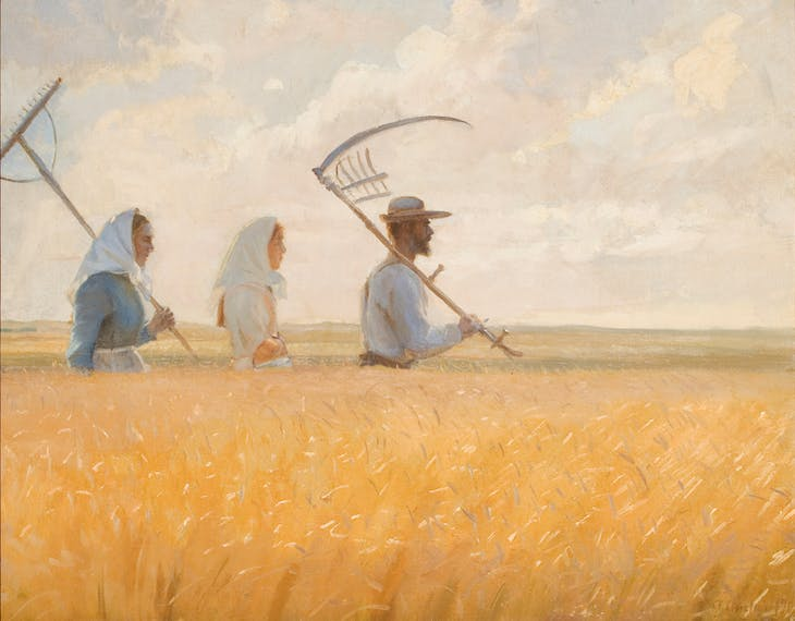 Harvest Time (1901), Anna Ancher.
