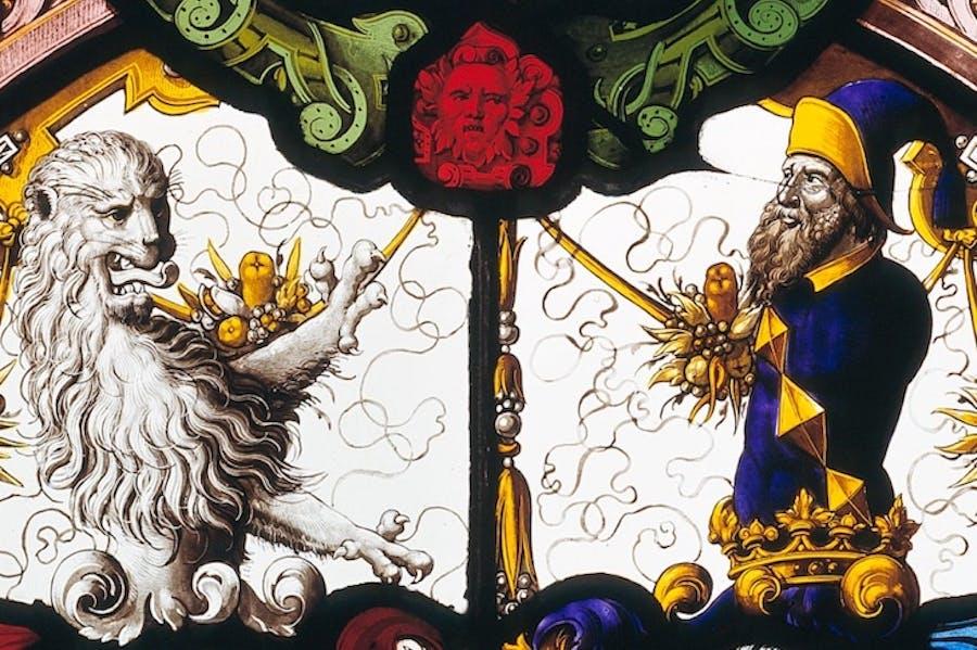 Coat of arms of Gavin de Beaufort and Daniel Peyer (1575), Georg Wannewetsch.