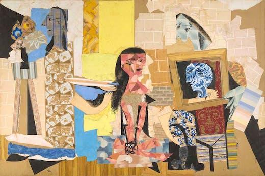 Femmes à leur toilette (1937–38), Pablo Picasso.