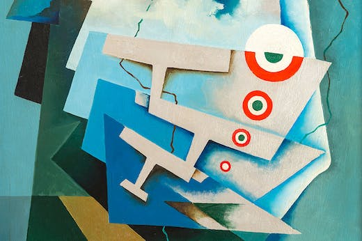 Tricolour Wings (1932; detail), Tullio Crali