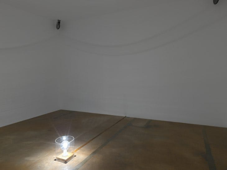 Installation view of 'Rosemarie Castoro', Photo: Annik Wetter; courtesy MAMCO Geneva at MAMCO Geneva.