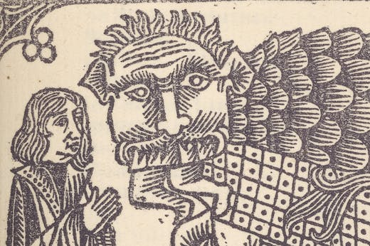 Illustration from César-antechrist (detail; 1895), Alfred Jarry.