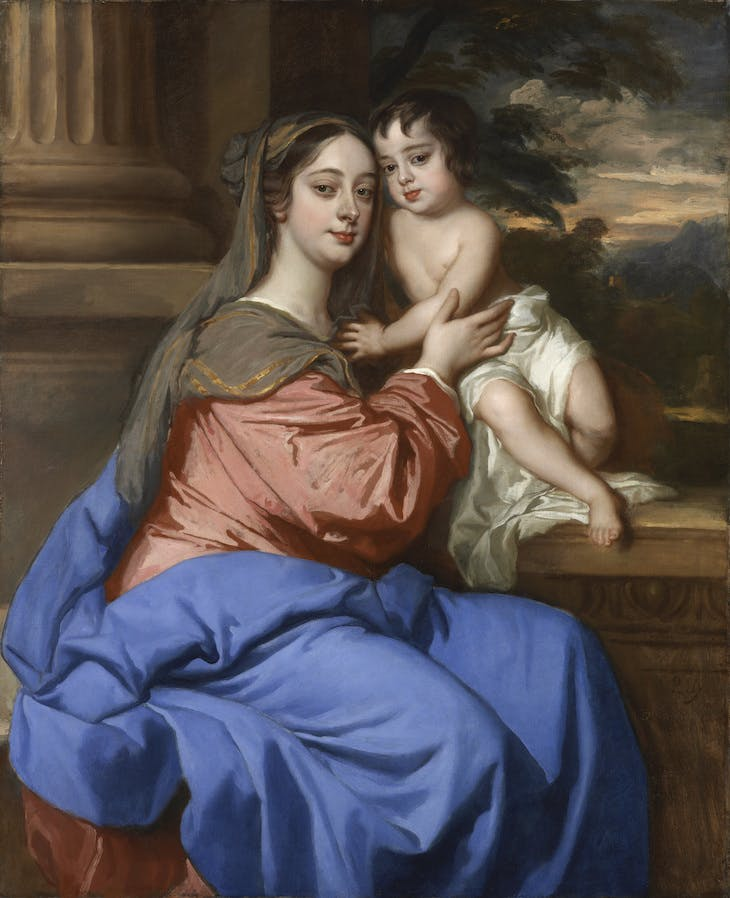 Barbara Palmer Duchess of Cleveland with her son (c. 1664), Peter Lely.