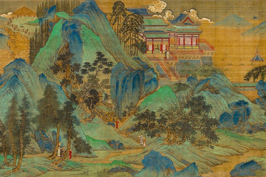 The Jiucheng Palace (detail; c. 1525–33), Qiu Ying.