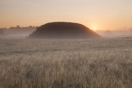 Mound Two at Sutton Hoo.