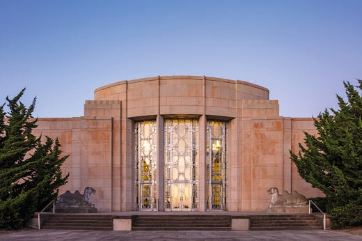 The Seattle Asian Art Museum, designed by Carl F. Gould, which opened in 1933 as the home of the Seattle Art Museum