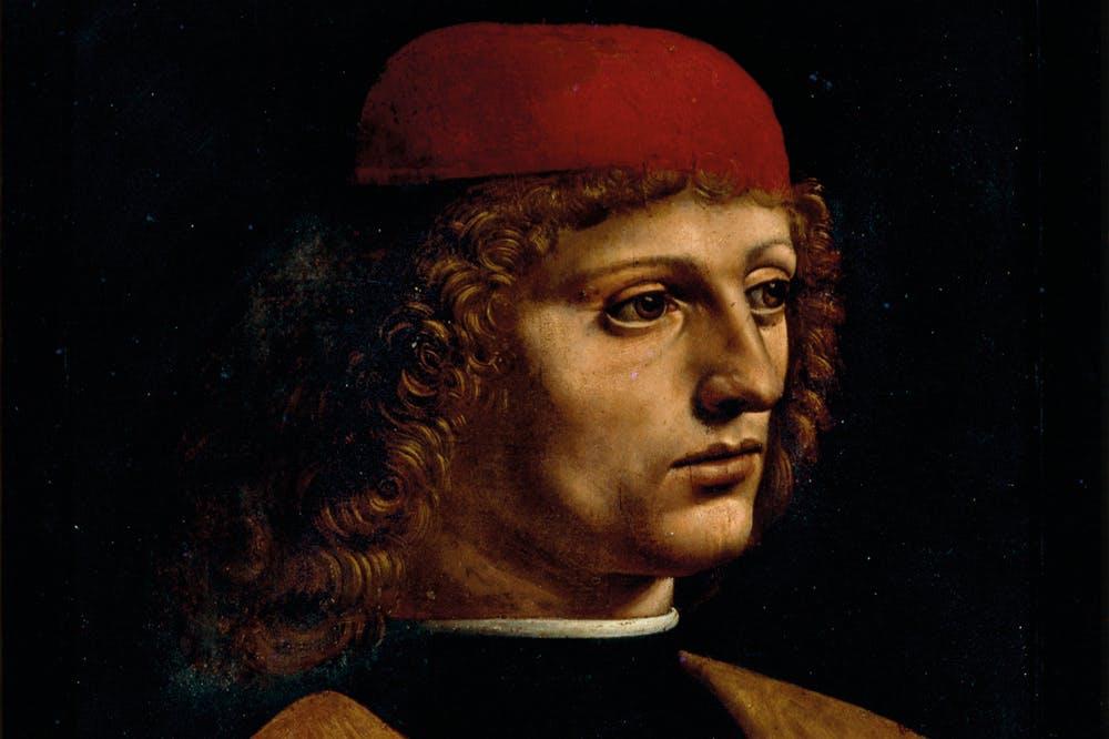 The Musician (detail; c. 1483–90), Leonardo da Vinci
