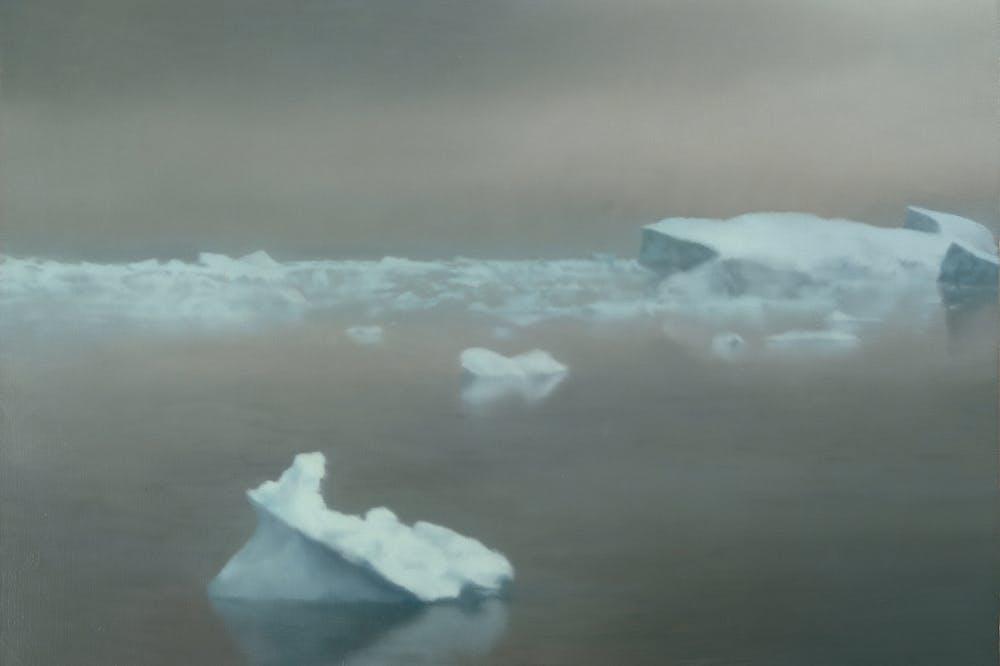Ice (1981), Gerhard Richter.