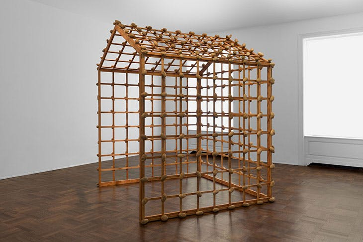Object Potato House (1967/1990), Sigmar Polke.