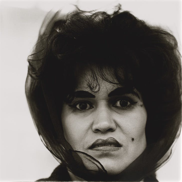 Puerto Rican woman with a beauty mark, N.Y.C. (1965), Diane Arbus.