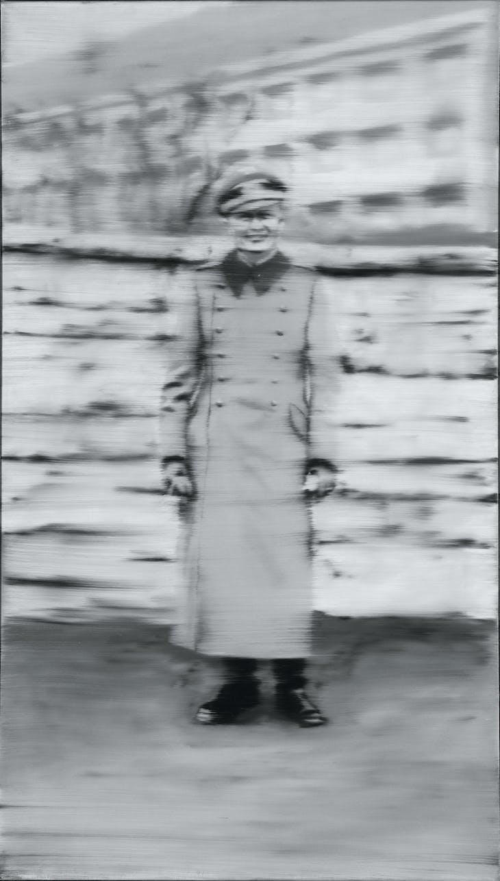 Uncle Rudi (1965), Gerhard Richter.