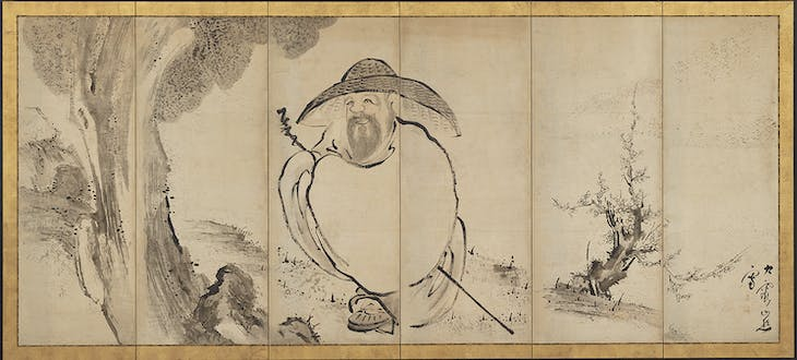 The Poet Su Shi (18th century), Ikeno Taiga.