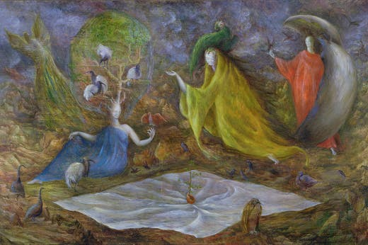 The Old Maids (1947), Leonora Carrington.