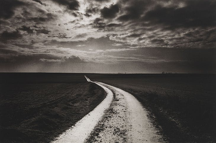 The Road to the Somme, France (1999; printed in 2019), Don McCullin. Courtesy the artist and Hauser & Wirth; © Don McCullin