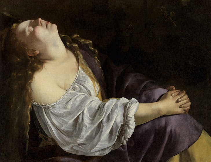 Mary Magdalen in Ecstasy (c. 1620/25 or c. 1630/35), Artemisia Gentileschi. Private collection.