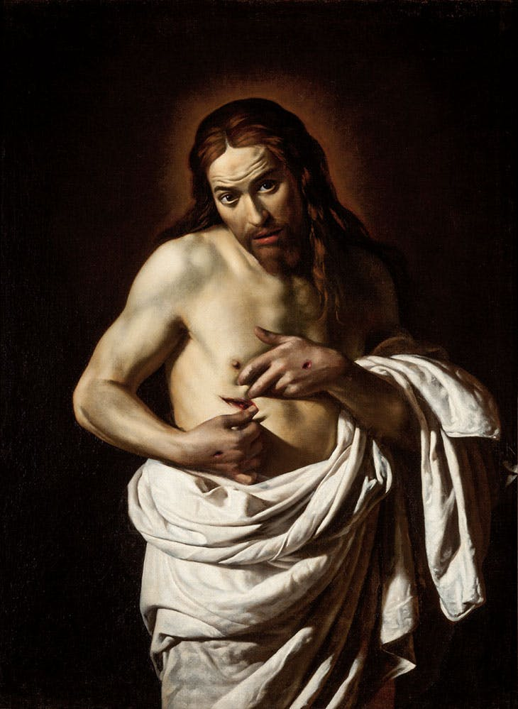 Christ Displaying his Wounds (c. 1625–35), Giovanni Antonio Galli, called Spadarino.