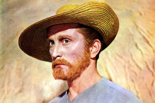 Kirk Douglas (1916–2020) as Van Gogh in Vincente Minnelli's Lust for Life (1956).