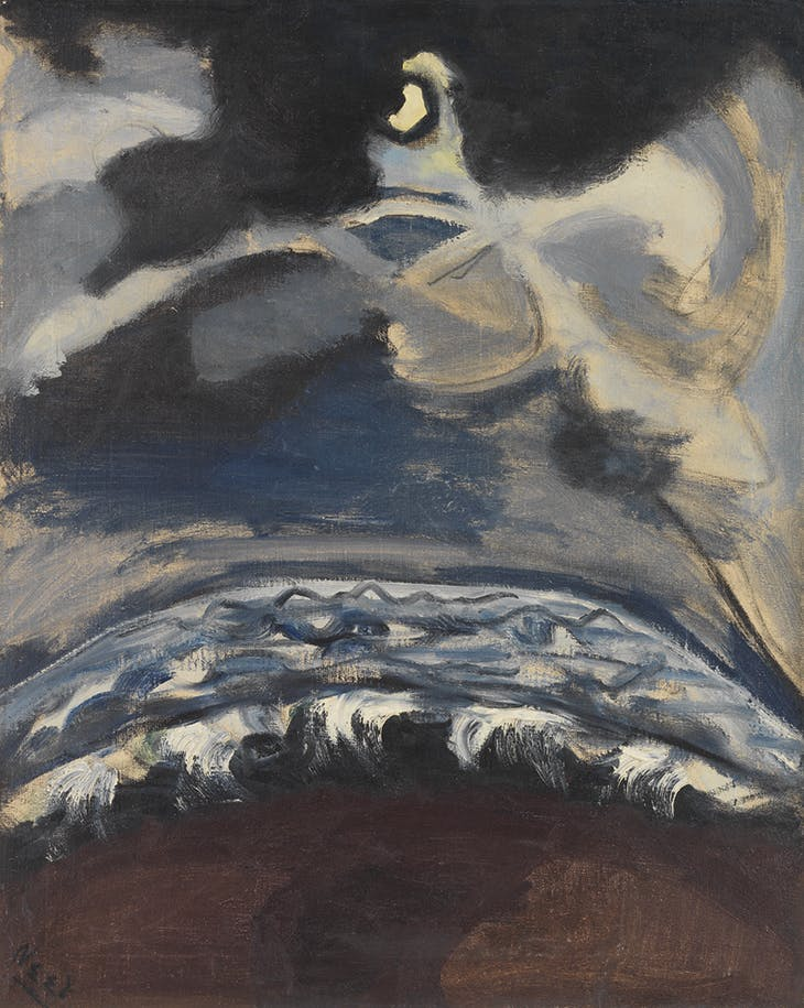 The Sea (1947), Alice Neel.