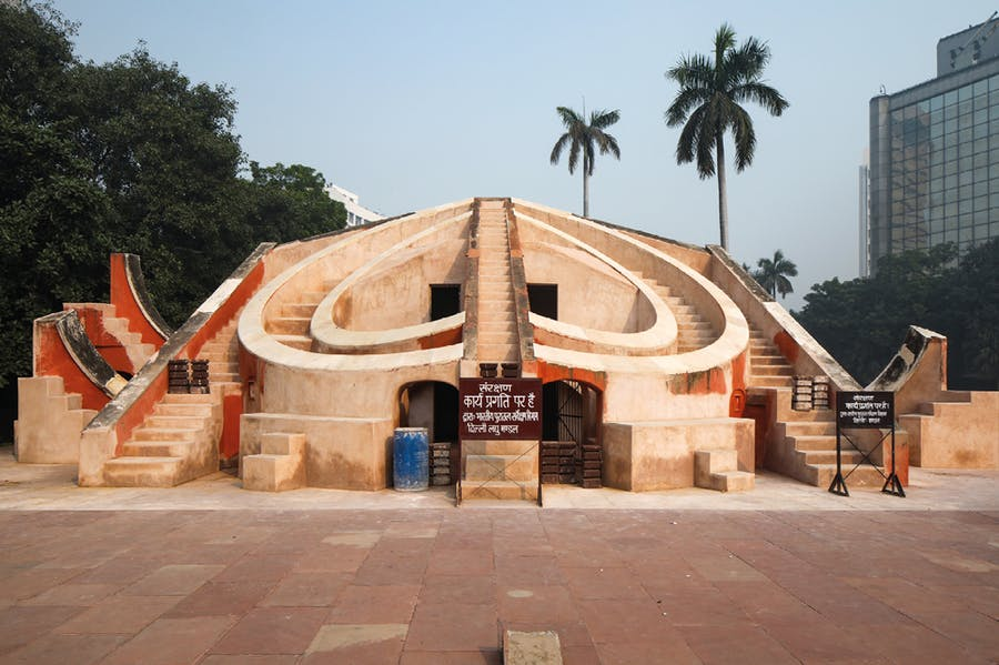 The Jantar Mantar observatory, construction of which began in the 1720s under Maharaja Sawai Jai Singh II. Photo: John East