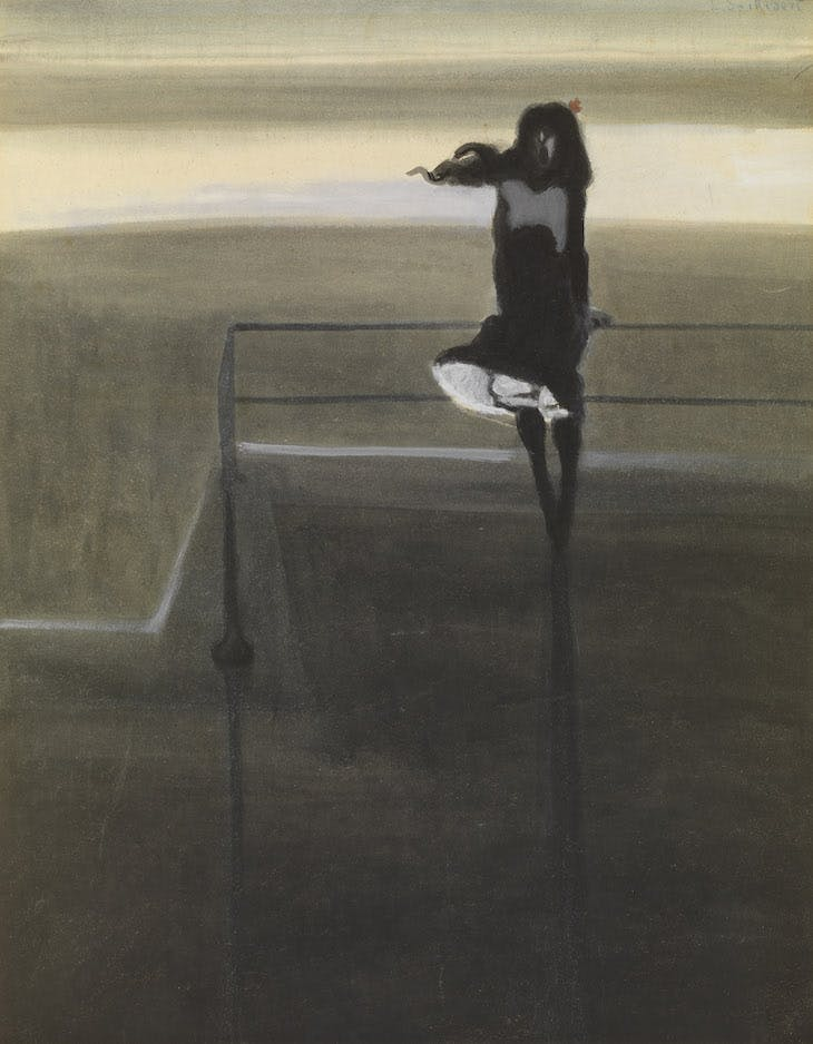 A Gust of Wind (1904), Léon Spilliaert.