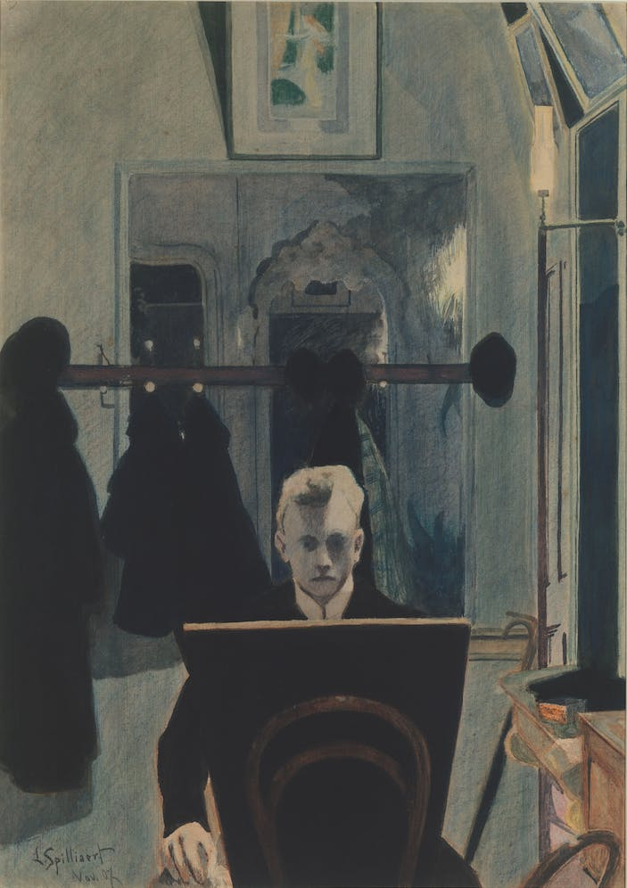 Self-portrait (1907), Léon Spilliaert.