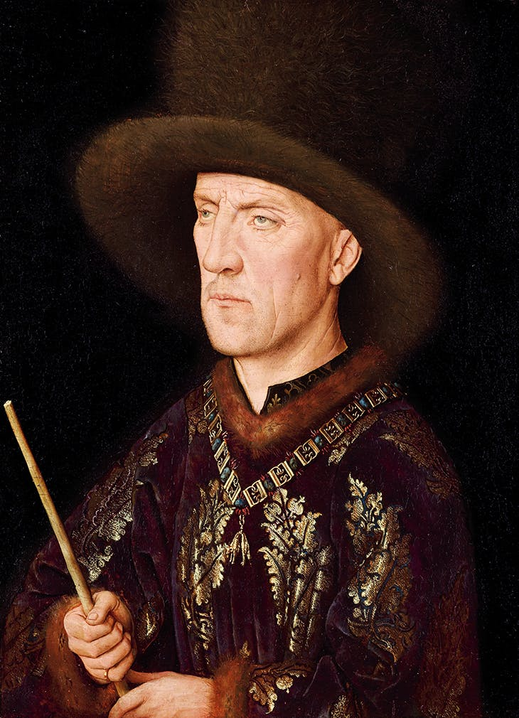 Portrait of Baudouin de Lannoye (c. 1435), Jan van Eyck.
