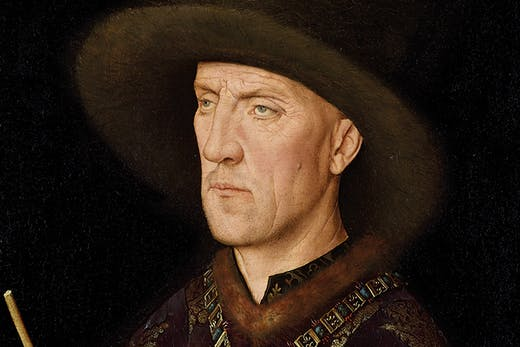 Portrait of Baudouin de Lannoye (detail; c. 1435), Jan van Eyck.